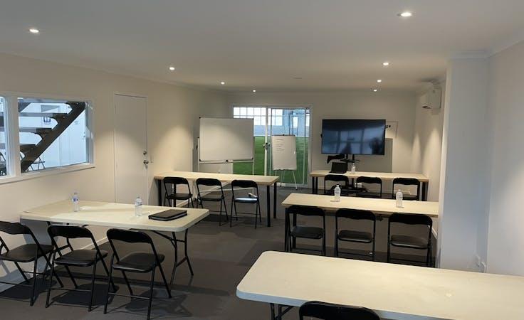 The Hub, multi-use area at The Football Hub @ H28, image 1