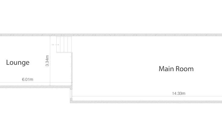 Roomy, function room at Gloria, image 3