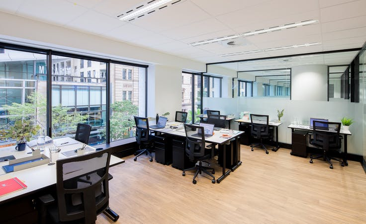 32 desk, private office at Christie Spaces Queen Street, image 1