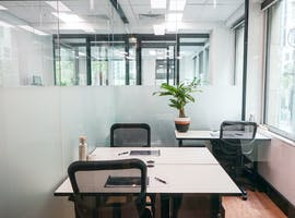 3 desk, private office at Christie Spaces Collins St, image 1
