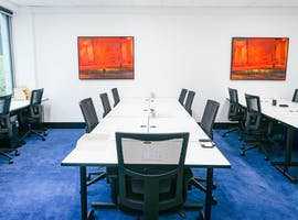 16 desk, private office at Christie Spaces Collins St, image 1