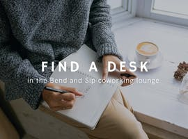 Shared office at The Bend and Sip Bar, image 1