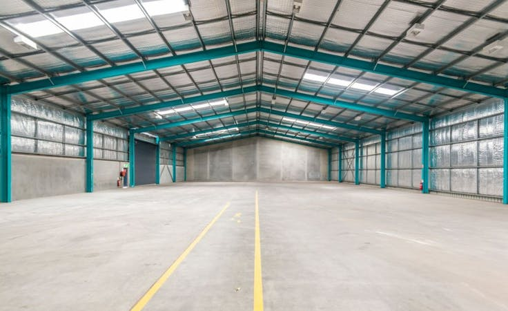 1130m2, multi-use area at Old SolarCart warehouse, image 1