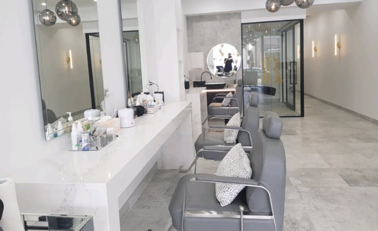 Beauty Rooms & Barber chairs for sub-lease, shopfront at Sydney Brows & Lashes, image 1