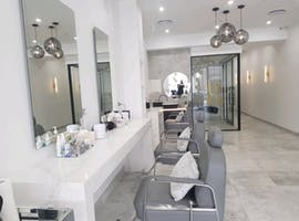 Beauty Rooms & Barber chairs, shopfront at Sydney Brows & Lashes, image 1
