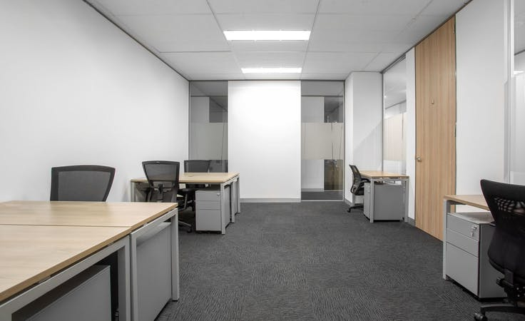 Fully serviced open plan office space for you and your team in HQ Victoria Park , serviced office at Victoria Park, image 1