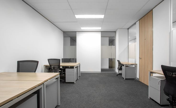 Open plan office space for 15 persons in Regus 100 Havelock , serviced office at Level 1, 100 Havelock Street, image 1