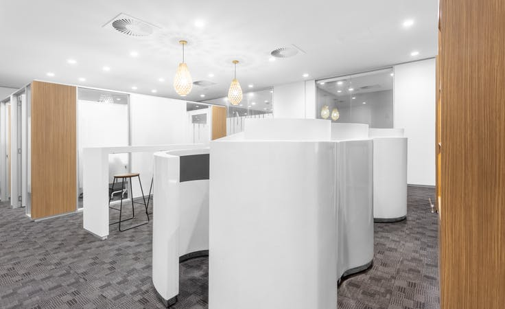 Move into ready-to-use open plan office space for 15 persons in Regus 380 St Kilda Road , serviced office at Level 14, 380 St Kilda Road, image 4