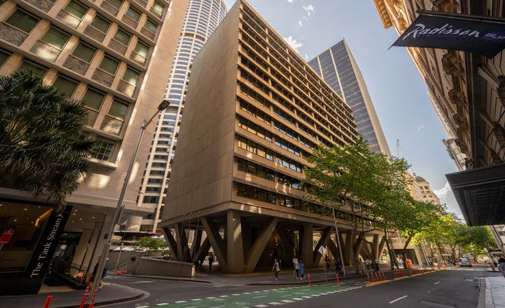 Expand your business presence with a virtual office in Regus Australia Square Plaza, hot desk at Australia Square Plaza, image 1
