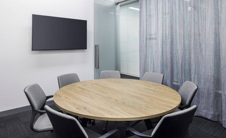 Barwon | 7 Person Meeting Room, meeting room at 607 Bourke Street, image 1
