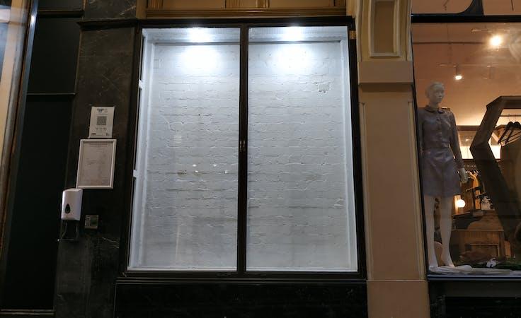 Display Cabinet, pop-up shop at Royal Arcade, image 1
