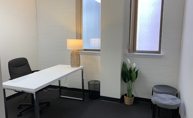 Office 5 (with own kitchen), private office at Business Hub. North Adelaide - Melbourne St., image 1