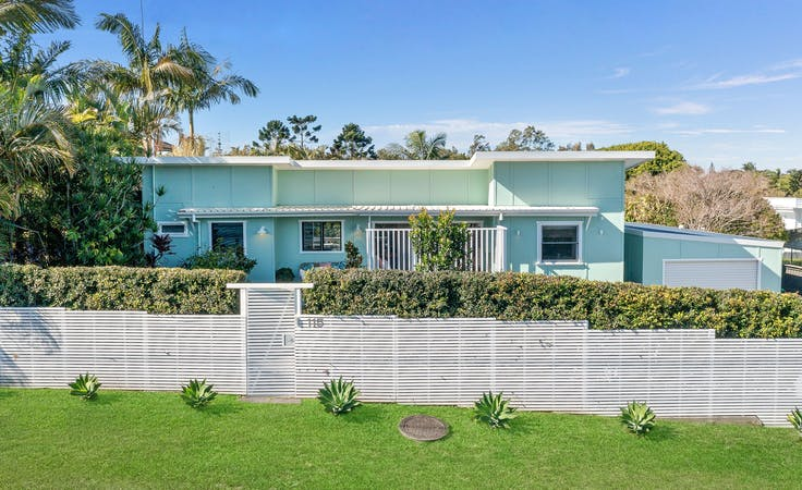 Mid Century Byron Bay, multi-use area at The Polly Palms, image 1
