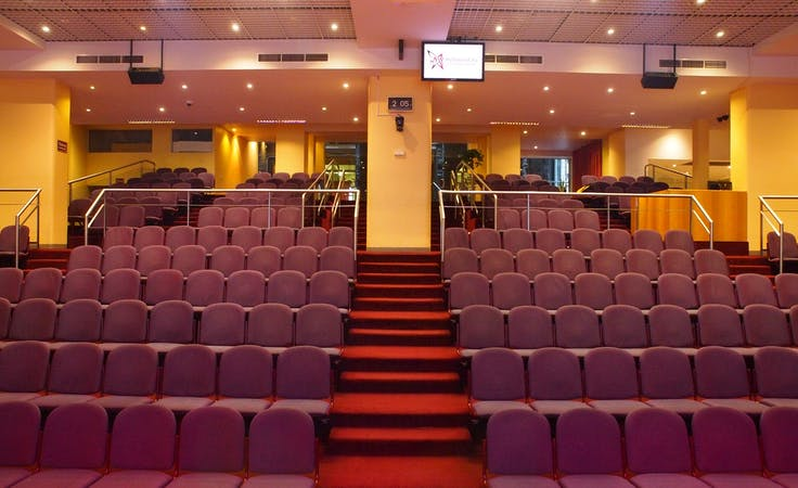 Auditorium, conference centre at Melbourne City Conference Centre, image 4
