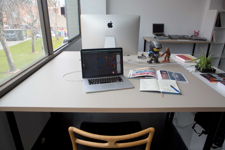 Hot desk at Good Old Daiz, image 1