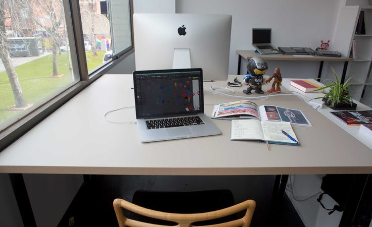 Hot desk at Good Old Daiz, image 1