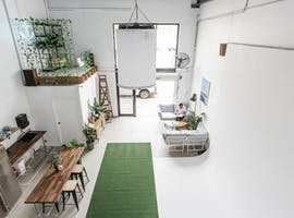 This photography studio has plenty of natural light, image 1