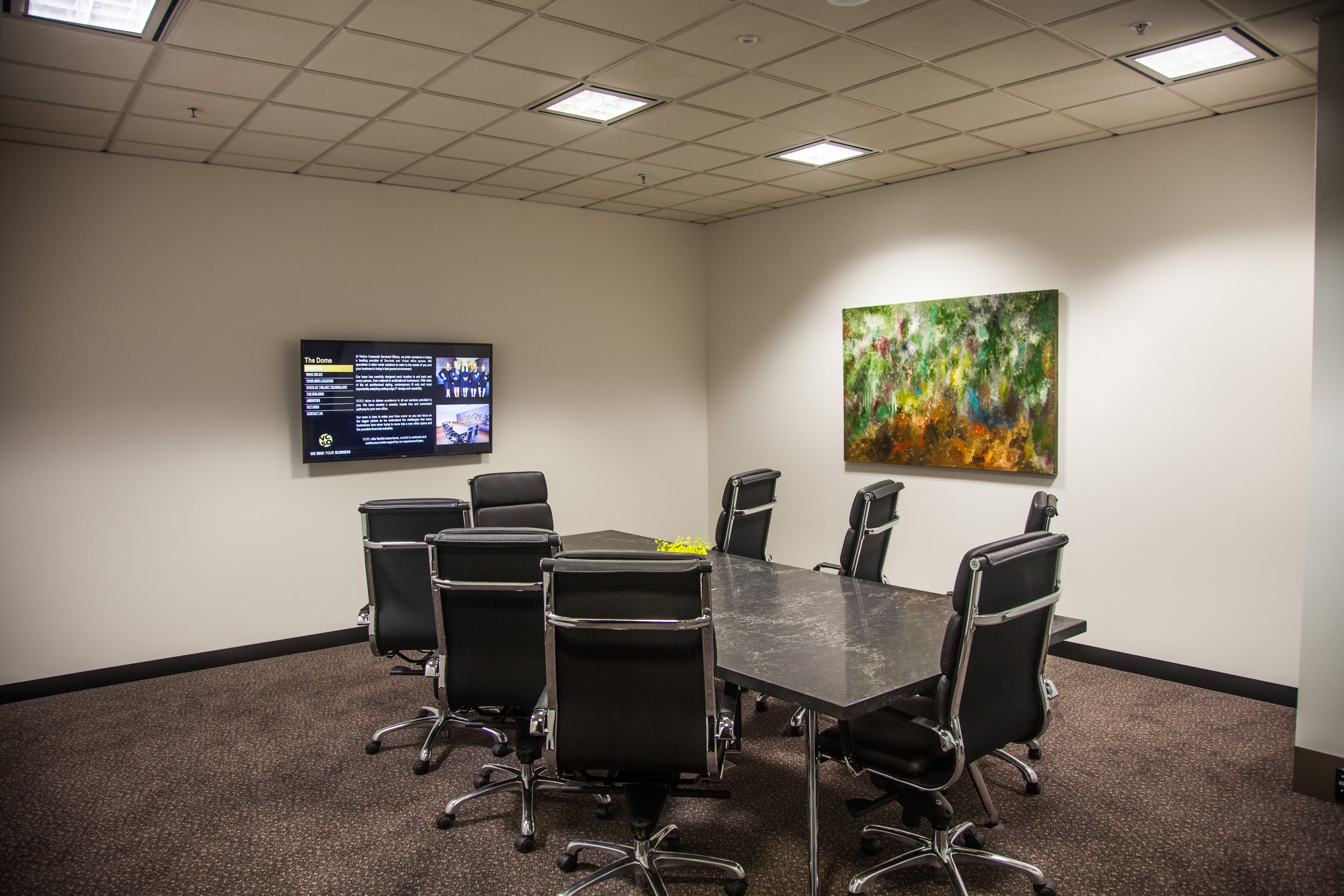 Tayler, meeting room at Victory Offices | The Dome Meeting Rooms, image 1