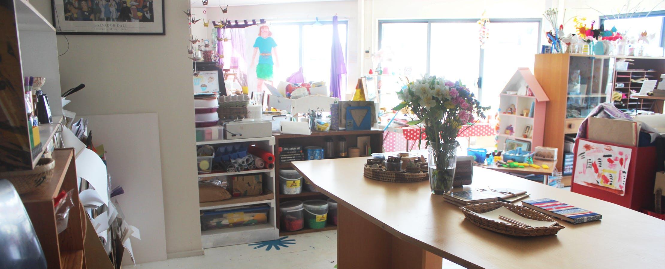 Group Table, creative studio at A Little Creative Studio, image 1
