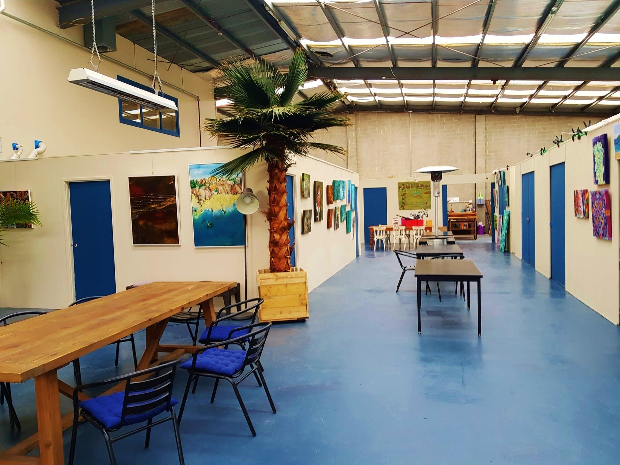 Le Studio Art Space, hot desk at Le Studio Art Space & Ceramic Studio, image 1