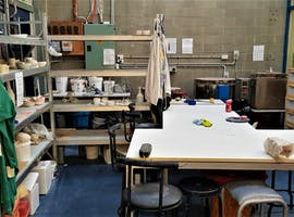 Ceramic studio complete with potter's wheel based in Mordialloc, image 1