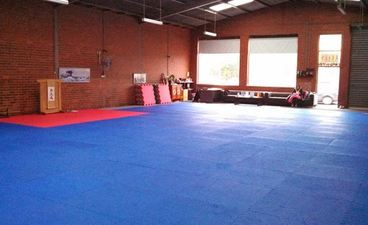 This fitness space is perfect for martial arts enthusiasts, image 1