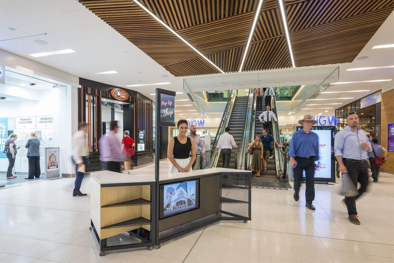 Site 1, kiosk at MacArthur Central Shopping Centre, image 1