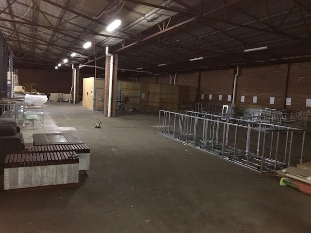 Storage, multi-use area at Warehouse Workshop, image 3