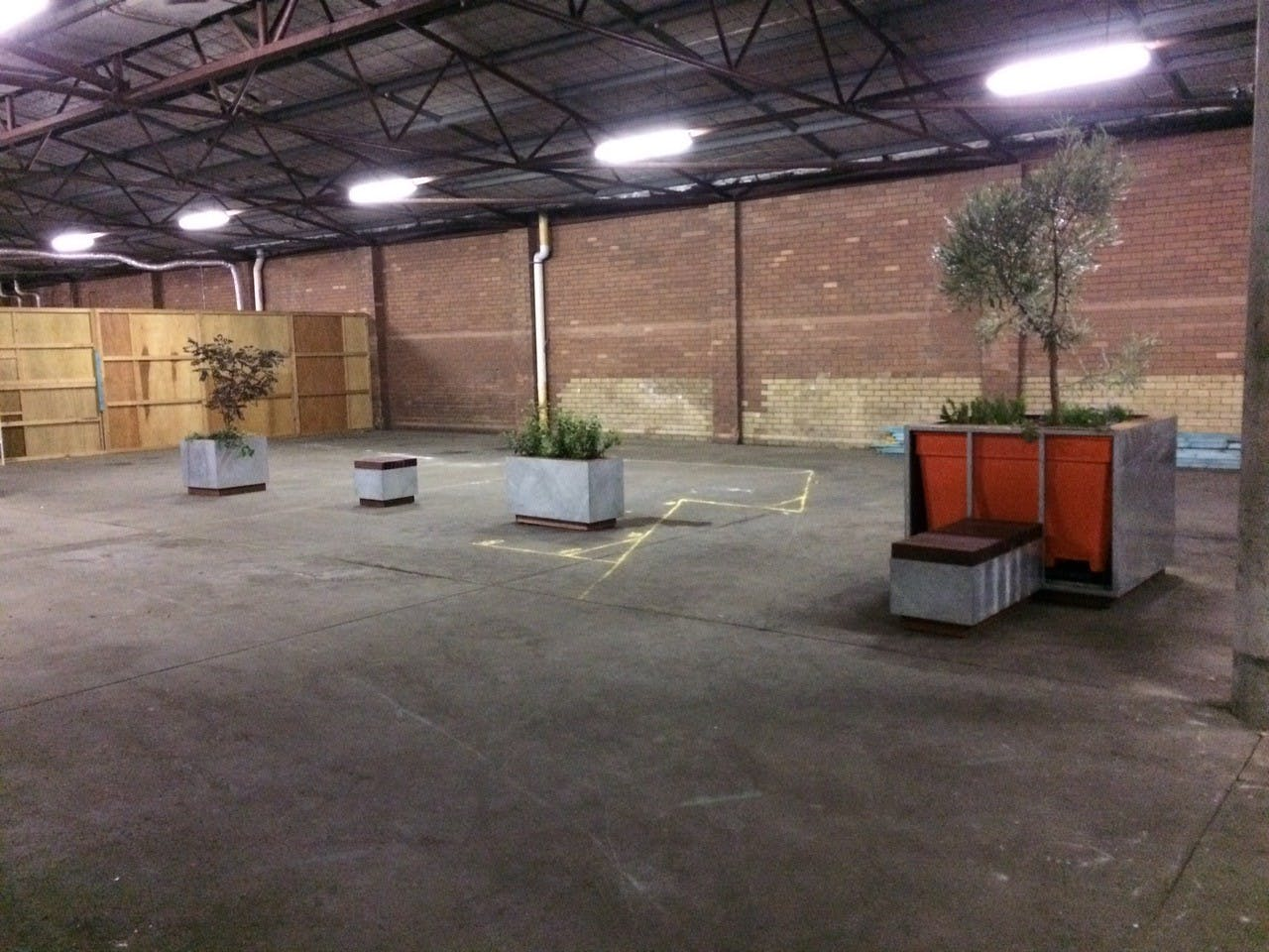 Storage, multi-use area at Warehouse Workshop, image 1