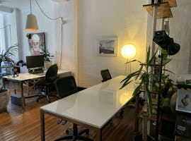 3-4 desks available in production house in the heart of the city - open plan creative space, creative studio at Limehouse Creative, image 1