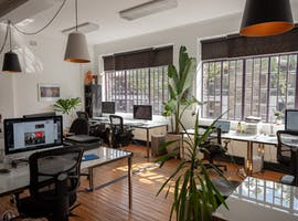 Desks available in production house in the heart of the city - open plan creative space, creative studio at Limehouse Creative, image 1