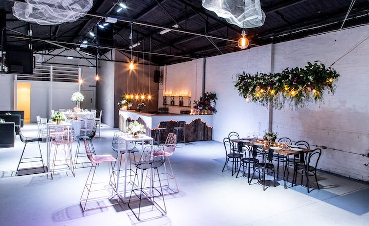 This converted warehouse has everything you need for a stylish event, image 1