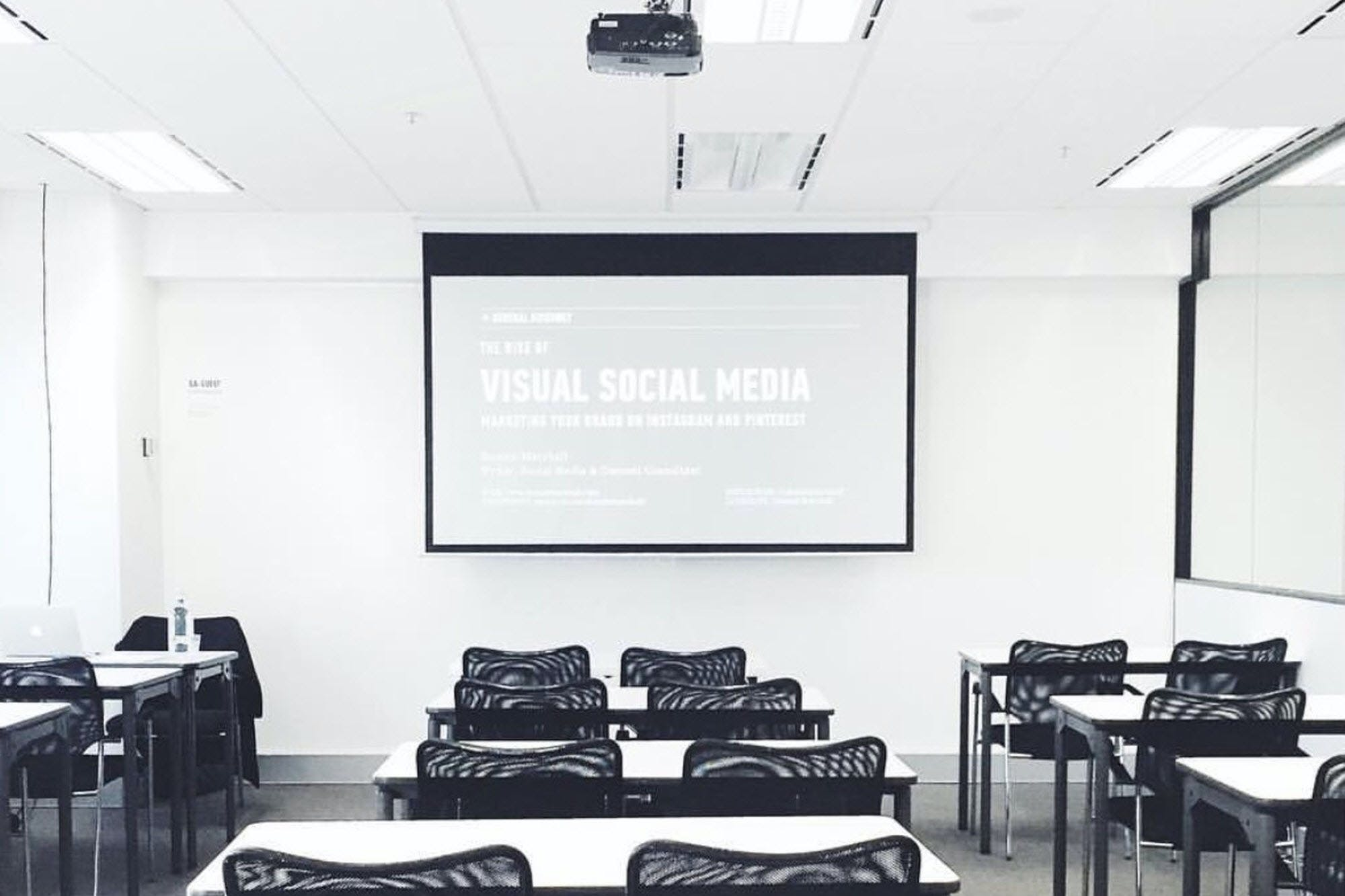 Classroom 5, training room at General Assembly, image 1