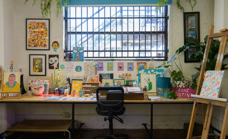 This co-working space has creative inspiration everywhere, image 1