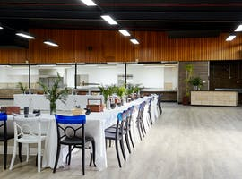 Large converted warehouse space well suited to private functions, image 1