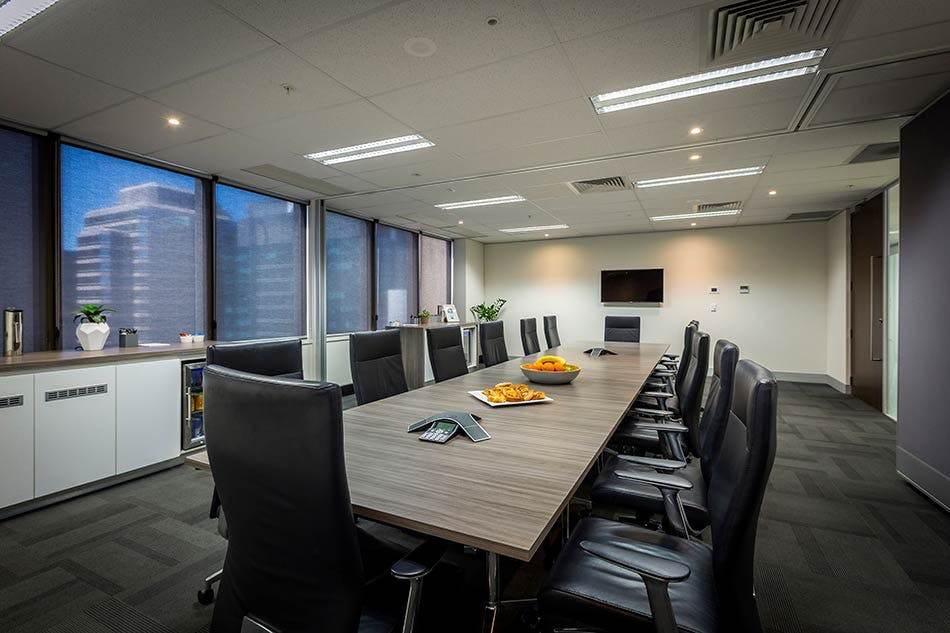 Swan and Ibis, meeting room at Liberty Executive Offices, image 1