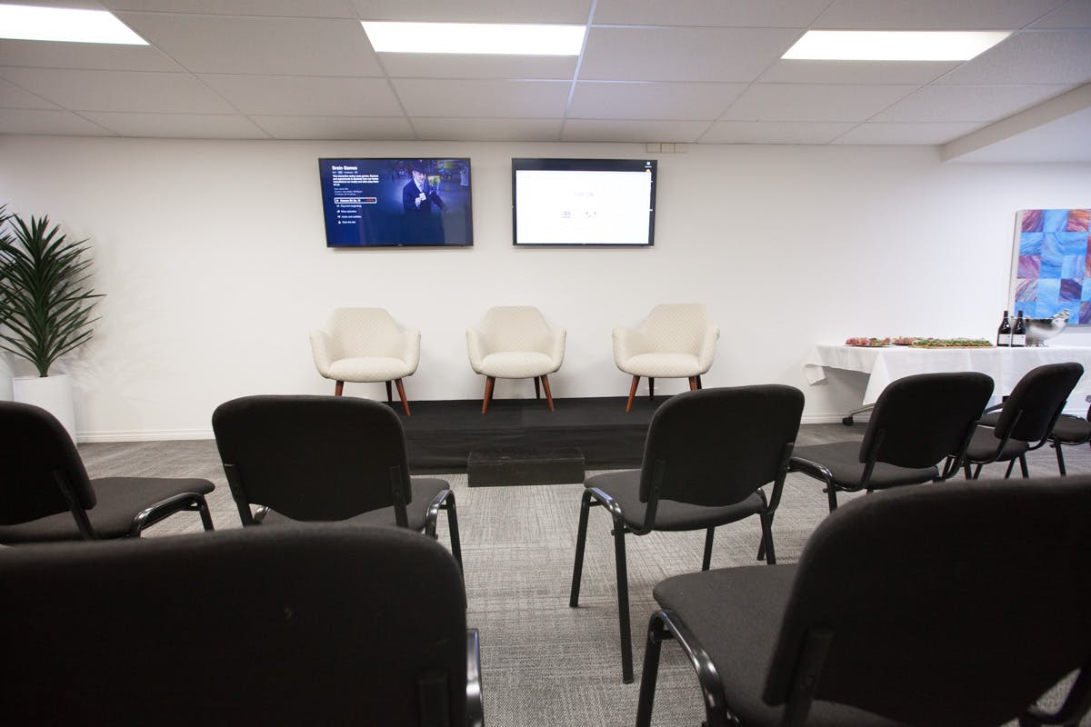 Modern Training Space, workshop at Clarity Communications, image 1
