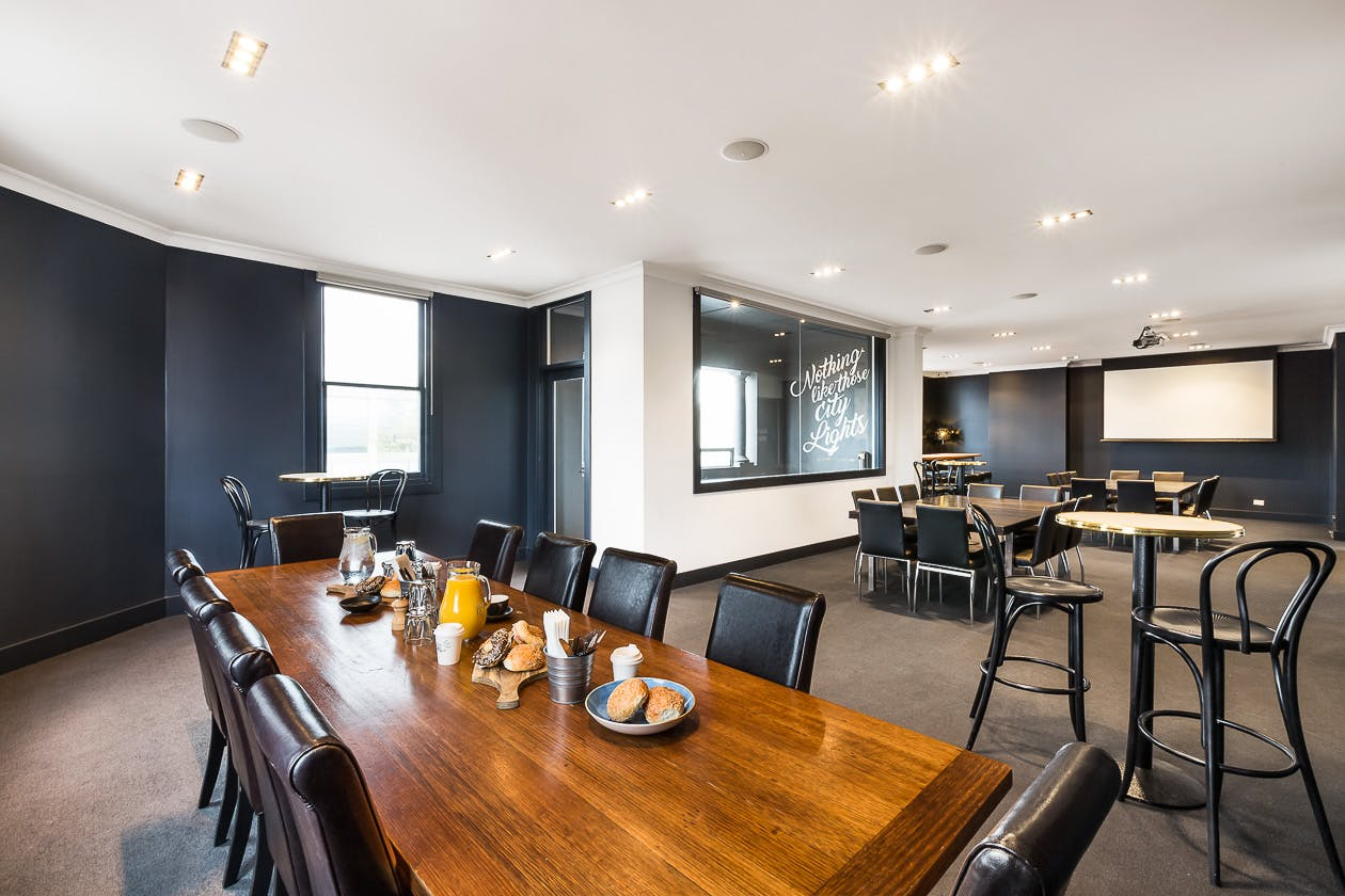 This sophisticated function room at the Golden Fleece Hotel is ideal for events, image 1