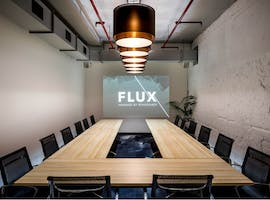 Hinkler and Stuart, meeting room at FLUX, image 1