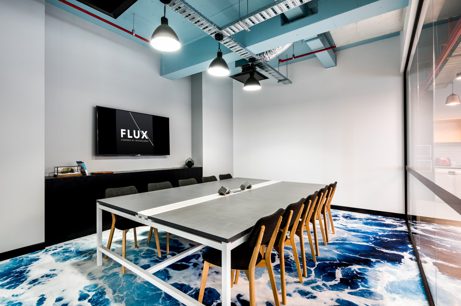 Watsons, Evans, meeting room at FLUX, image 1