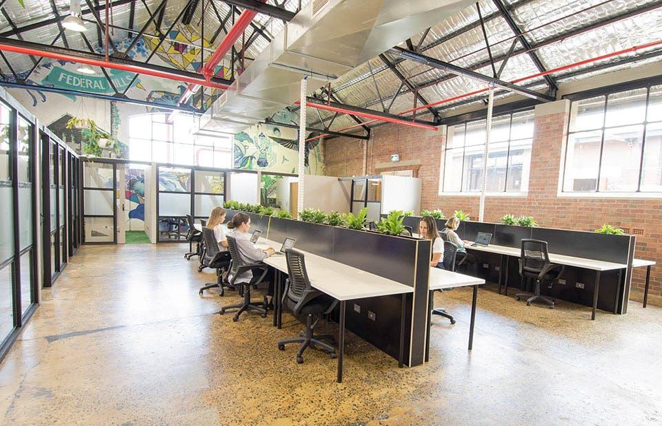 Hot desk at Arro HQ, image 1