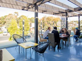The Patio, multi-use area at Workers Hut, image 1