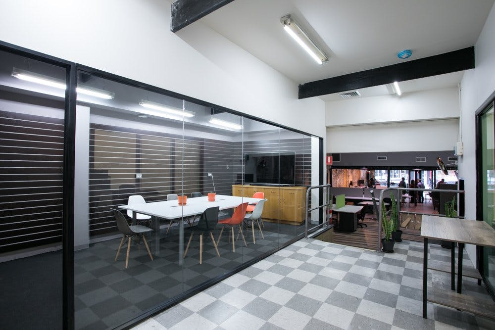 Meeting room at CoWork Newtown, image 1