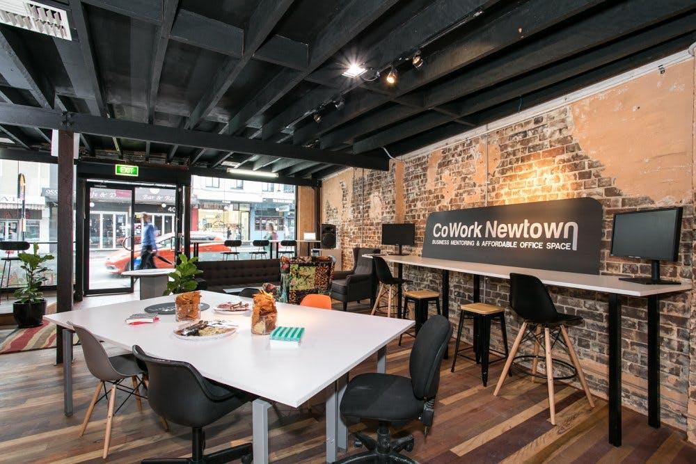 Meeting room at CoWork Newtown, image 4