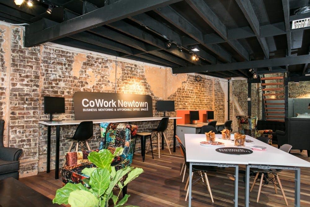 CoWork Lounge, meeting room at CoWork Newtown, image 3