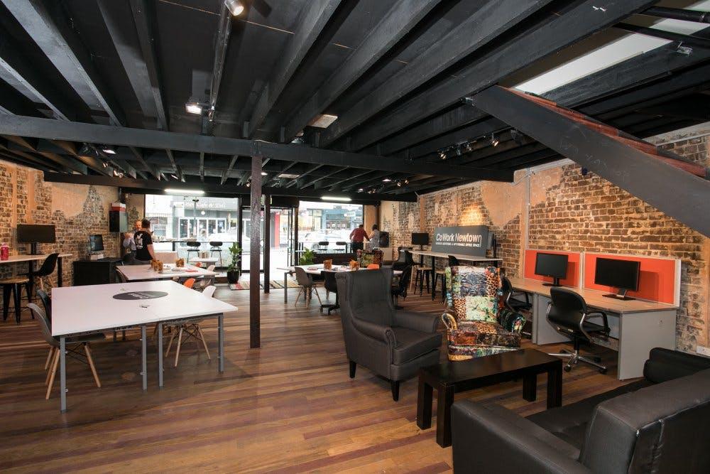 CoWork Lounge, meeting room at CoWork Newtown, image 1