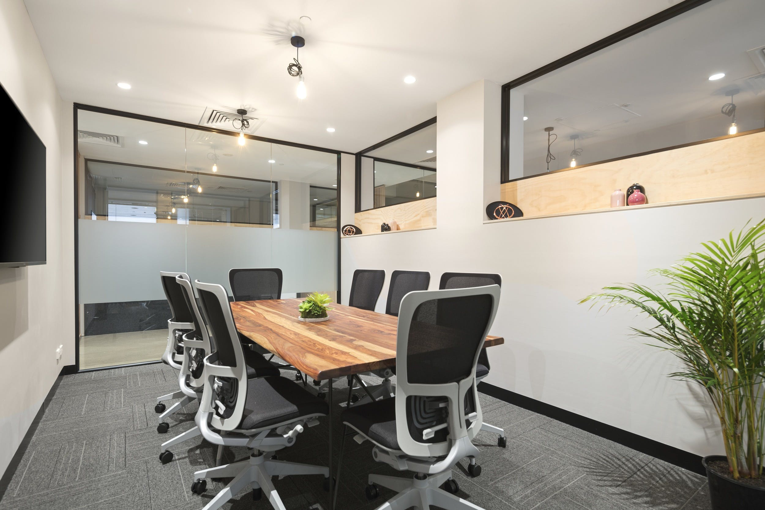 8 Person meeting space, meeting room at United Co., image 1