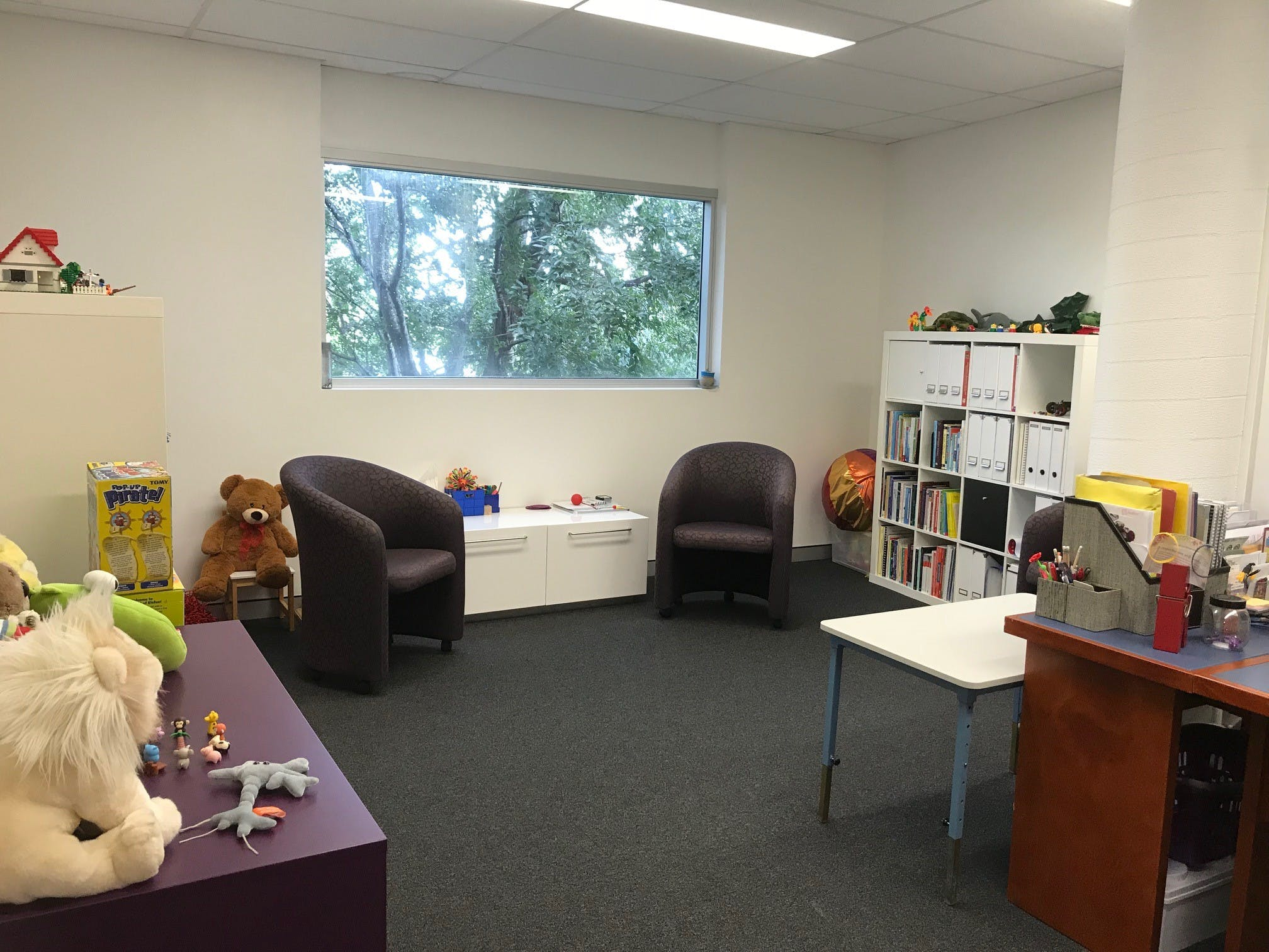 Comfortable consulting room, particularly suitable for a children's practitioner, image 1