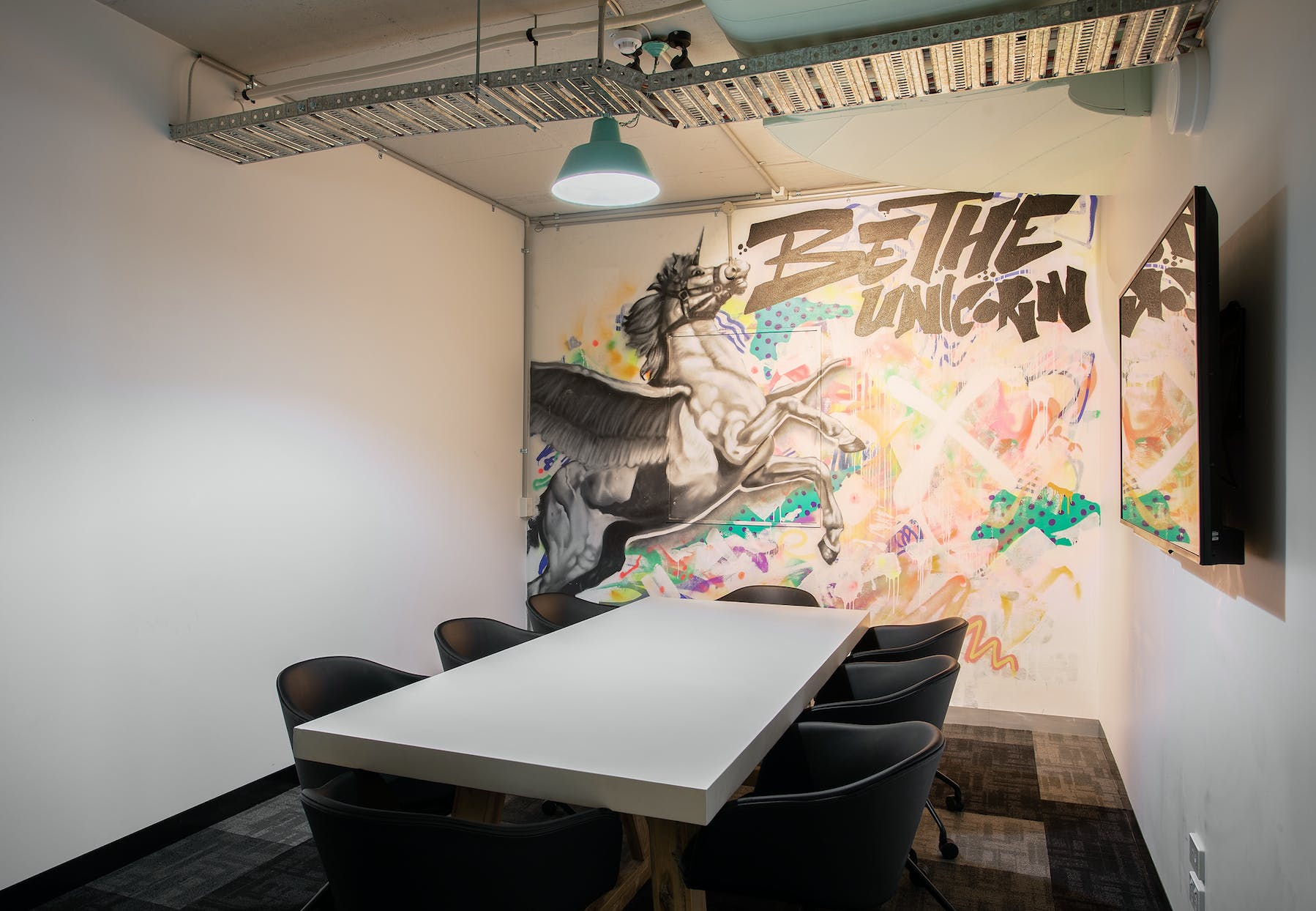 Unicorn Room, meeting room at Building X, Richmond, image 1