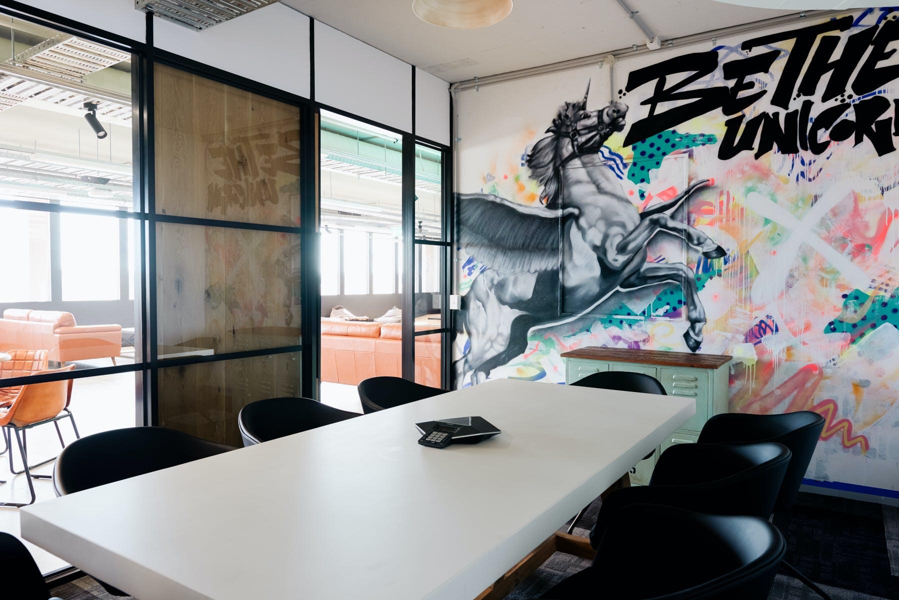 Unicorn Room, meeting room at Building X, Richmond, image 1
